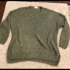Olive Green Women's S/M Altar'd State Sweater
